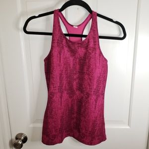 Under Armour Women's Fitted Razorback Tank Top EUC